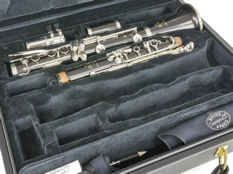 Buffet Crampon R 13 A Clarinet Nickel Plated Keys For