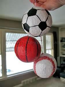 sports ornaments crafts by amanda