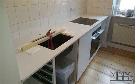 München Ikea Küche Mit Frosty Carrina Caesarstone