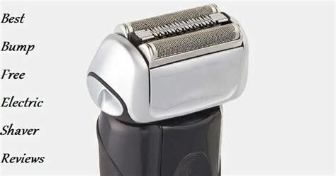 top   bump  electric shaver    sensitive skin