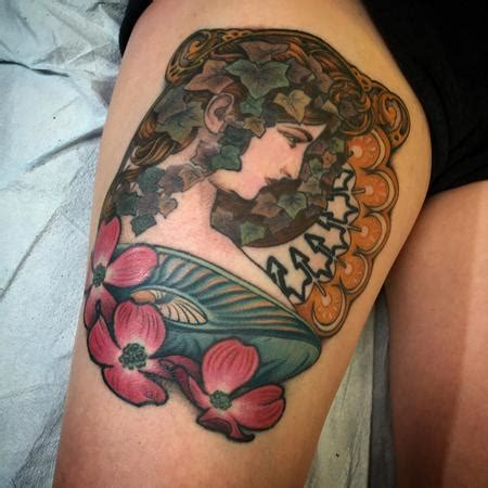Off The Map Tattoo  Art Nouveau  Tattoos  Page 1