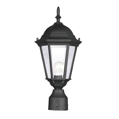 outdoor plug in l post patio living concepts cape cod plug in outdoor black post