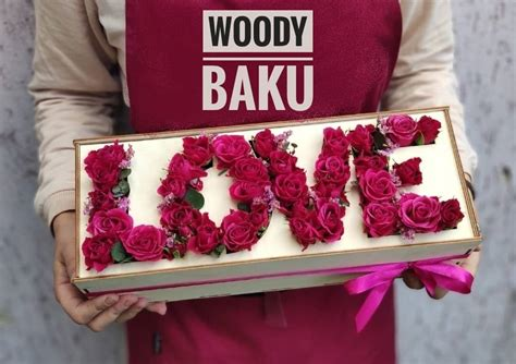 laser cut red roses valentines gift box wooden love word  vector files cnc
