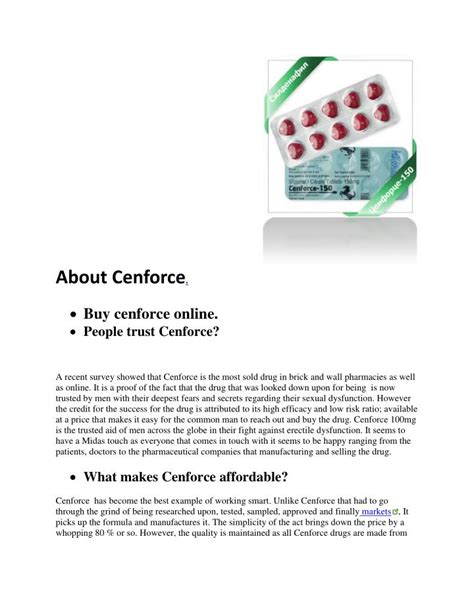 ppt cenforce online gt gt best prices gt gt 100mg 50mg