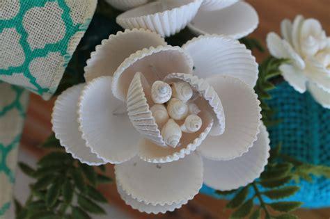 how to make seashell flowers navy shell burlap pillow 16 coastal accent loversiq