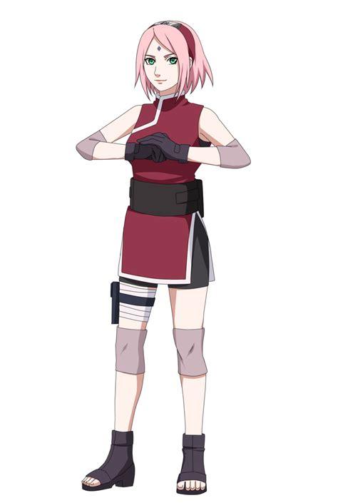 The last Naruto the movie - Sakura Haruno by whiterabbit20