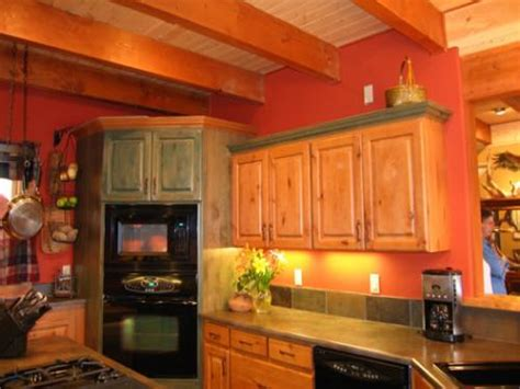 Best Color To Paint Kitchen, Rustic Kitchen Wall Colors