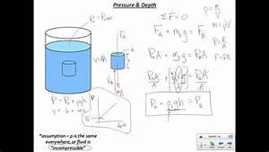 Pressure And Depth In Static Fluids