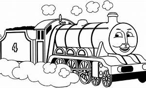 thomas the train coloring pages to print | TimyKids