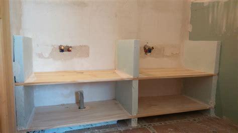 comment fabriquer un meuble vasque avec plan de travail chaios