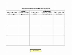 15 best images of action plan worksheet template for Template for action plan for performance improvement