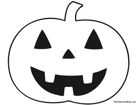 pumpkin outline template halloween artesanatos de halloween
