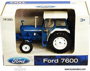 1975 Ford 7600 Farm Tractor By Rc2 Ertl 1  32 Scale Diecast