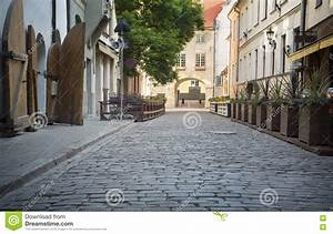 Street Without People Early In The Morning. Stock Photo ...