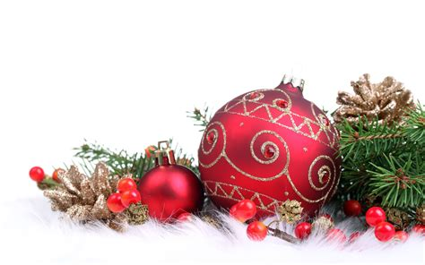 red christmas decorations christmas wallpaper 22228021 fanpop
