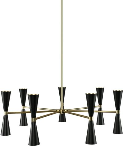 mid century modern chandeliers brand lighting discount