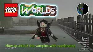 Lego Worlds Unlocking Vampire With Coordinates For