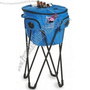 tub cooler with stand stand up cooler tub with 2 speakers made in china