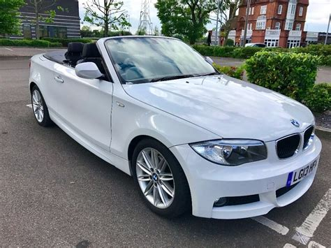 bmw serie 1 cabriolet 2013 bmw 120d 1 series convertible diesel m sport in docklands gumtree