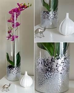 Vase En Verre Haut : d corer un vase en verre jasmine and co diy et tuto de d coration orientale marocaine ~ Nature-et-papiers.com Idées de Décoration