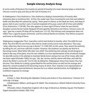 Preliminary Thesis Outline Sample Thesis Title Ideas For