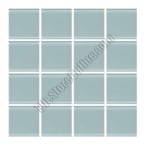 daltile glass reflections gr02 whisper green 1 x 1 dal