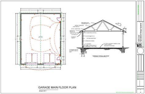 garage floor plan 36 39 x 46 39 workshop garage floor plans blueprints