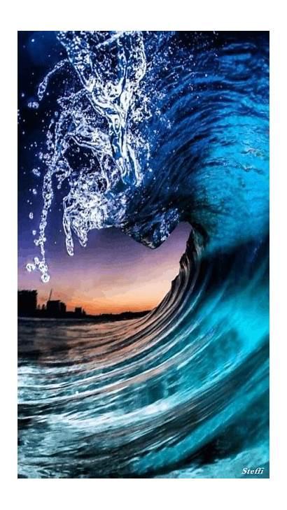Beach Waves Animated Gifs Ocean Wave Amazing