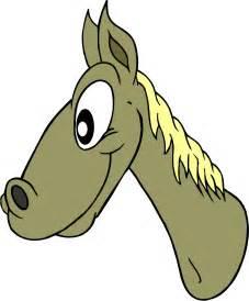 Cartoon Horse Head Clip Art