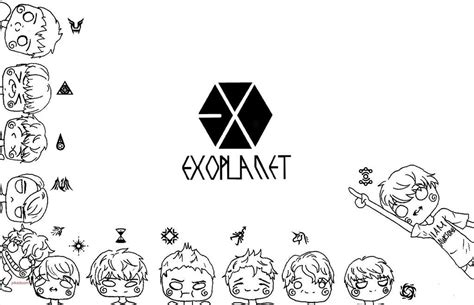 kpop chibi coloring pages coloring pages