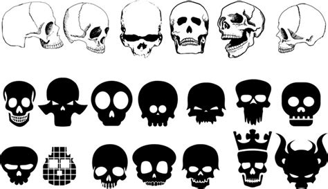 skull mask template printable