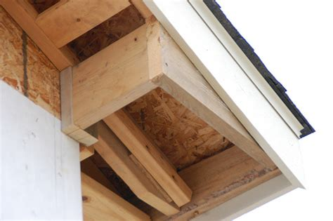 Building Soffit Boxes (and Wood Soffit Installation