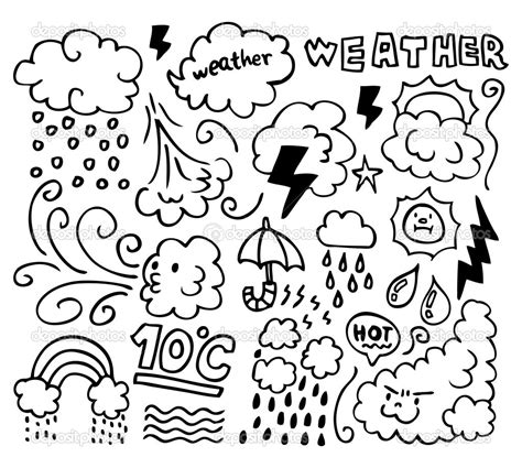 Coloring Weather weather coloring pages to and print for free