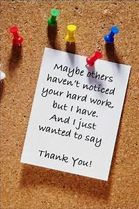Quotes To Say Thank You For Your Hard Work. QuotesGram