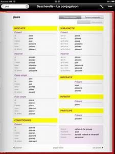 Aucune Connexion Internet : bescherelle la conjugaison pour ipad et iphone paperblog ~ Maxctalentgroup.com Avis de Voitures