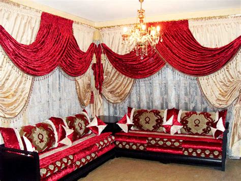 rideaux de salon marocain moderne salon marocain d 233 co