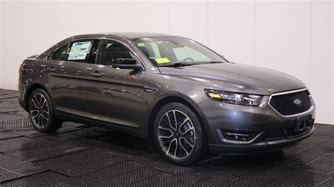 Report 2018 Ford Taurus new 2018 ford taurus sho in quincy f106653 quirk ford