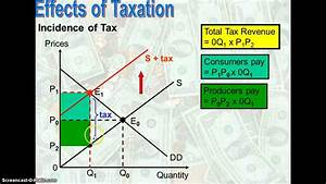 Effects Of Taxation - Impact And Incidence Of Tax
