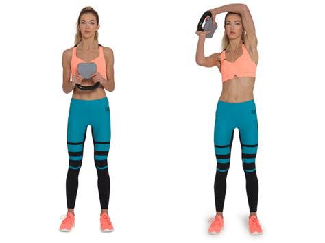 kettlebell body halo benefits swings head raise gymguider arm upside down opposite sets reps chest