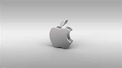silver apple logo   apple mac desktop