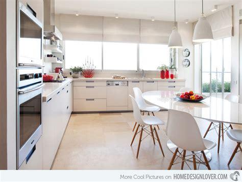 15 Modern Eatin Kitchen Designs  Home Design Lover