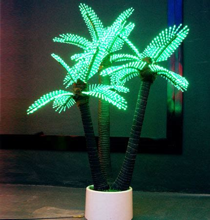 lighted led palm tree coconut tree lighting outdoor