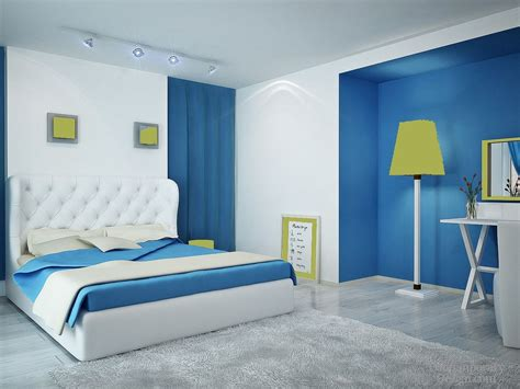 Bedroom Wall by Two Colour Combination For Bedroom Walls