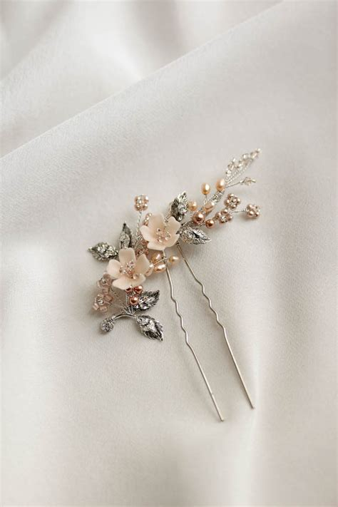 Delicate bridal hair pins for the modern bride TANIA