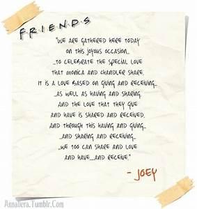 Joey's wedd... Memorable Toast Quotes