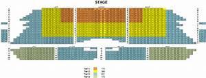 Mesa Arts Center Seat Map