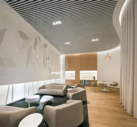 air france business lounge design inspired  nature