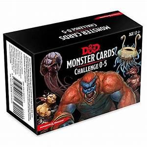 Dungeons  U0026 Dragons Spellbook Cards  Monsters 0