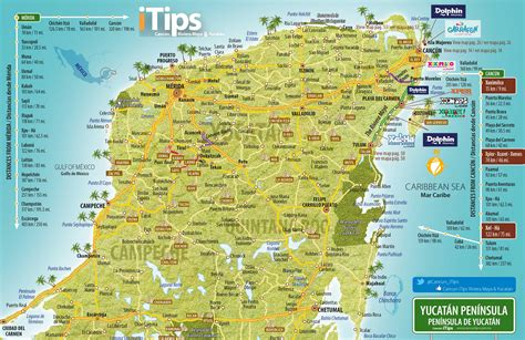 mapa yucatan cancun tips