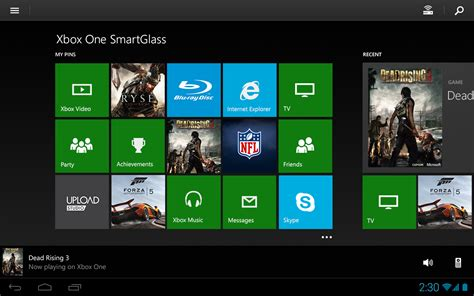 xbox one smartglass android apps on play